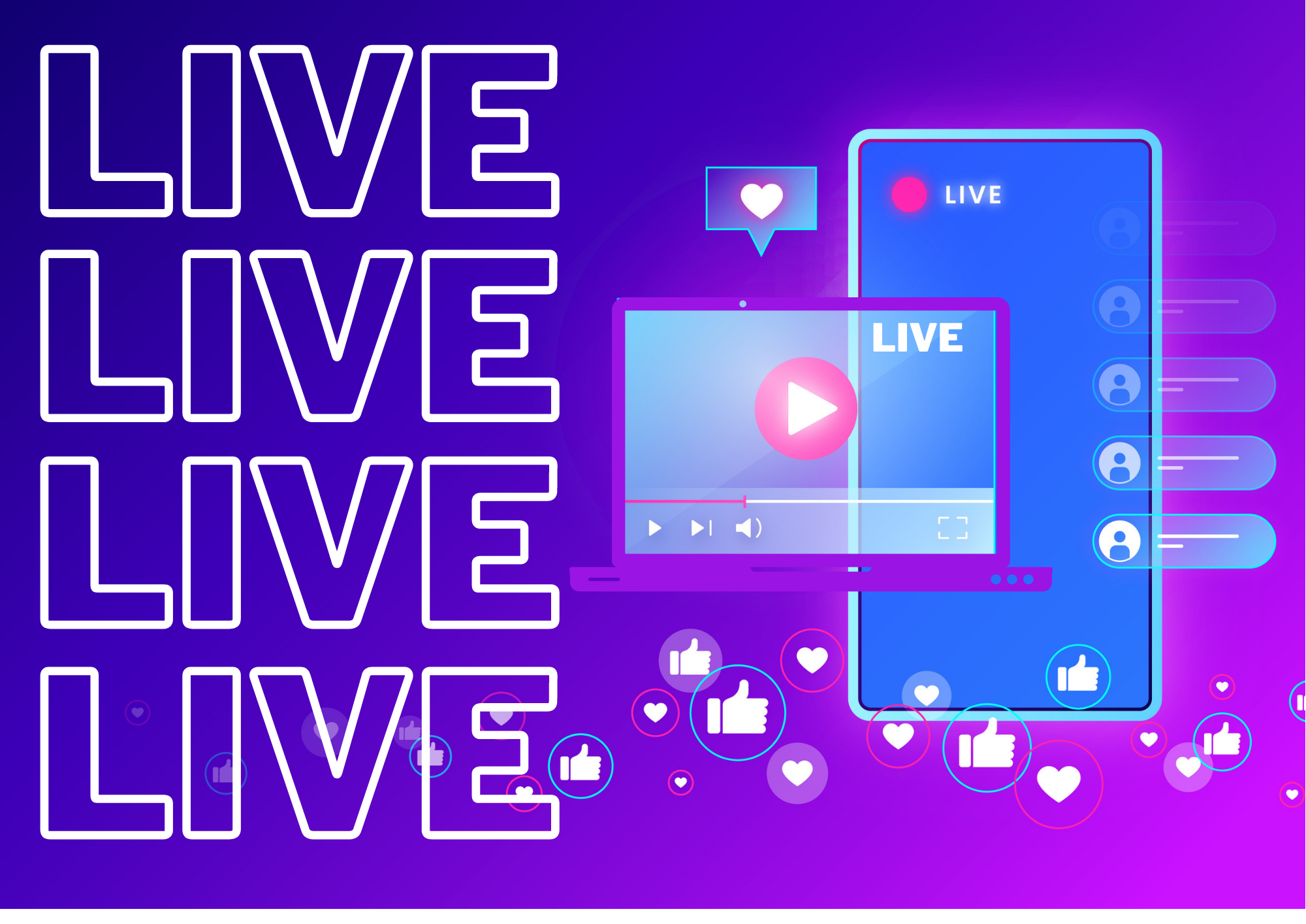 Como fazer uma live profissional? Checklist de uma live de sucesso